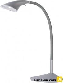 LEVO LAMPE DE BUREAU LED 6W H.45CM ARGENTE  Ampoules ledLUCIDE