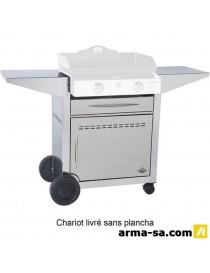 CHARIOT INOX FERME PRESTIGE 600  Fondue, raclette & planchaFORGE ADOUR