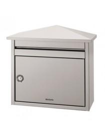 D561 DECAYEUX INOX-RVS  Boîtes aux lettres en métalBRABANTIA