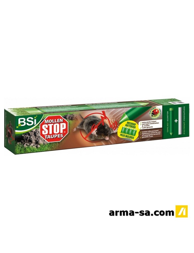 STOP TAUPE + BATTERIES  AntinuisiblesBSI