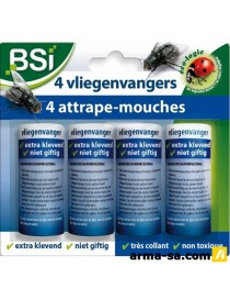 ATTRAPES MOUCHES 4PCS  InsecticidesBSI