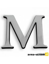 CARACTERE ADH 40MM ARGENT M  PictogrammesNOVAP