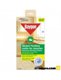 AUTOCOLLANT FENETRE BAYGON  InsecticidesBAYGON
