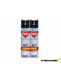 SPRAY INSECTES VOLANTS PROMO PACK 2X400ML  InsecticidesBAYGON
