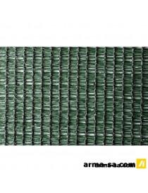 TOILE D'OMBRAGE 95% L 1,80M-MC VERT  Coupe-vueADVOTEX