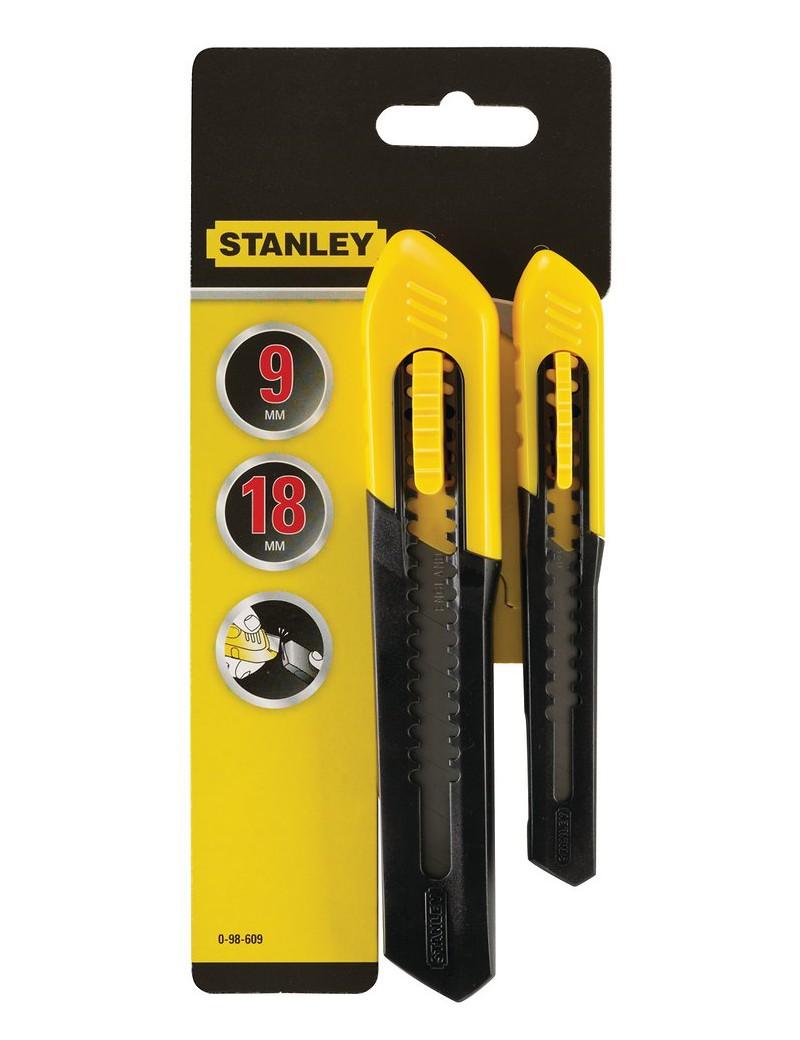 Bonus Pack Cutter 18mm+9mm  CuttersSTANLEY