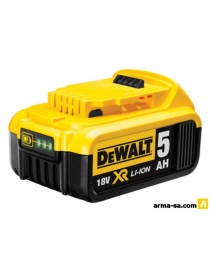 ACCU 18V 5AH LI-ION  Batteries rechargeablesDEWALT
