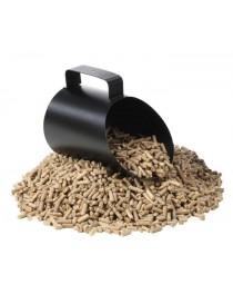 Pelle à pellets Pelleo noire  Accessoires chauffage