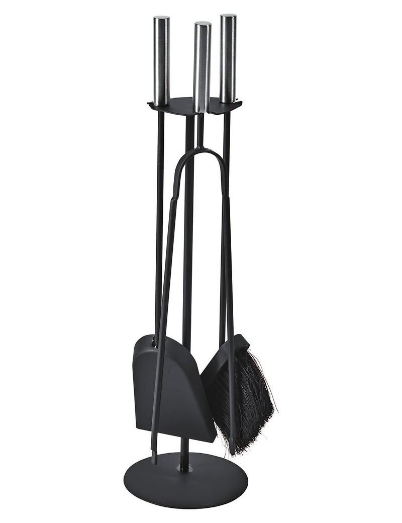 Serviteur TRIO 3 accessoires, manches INOX  Accessoires chauffage