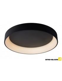TALOWE LED PLAFONNIER 80CM 80W 3000K NOIR  Éclairage décoratifLUCIDE