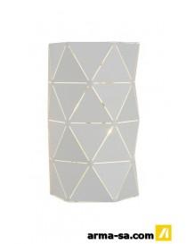 OTONA APPLIQUE 2XE14-40W L15 H20CM BLANC  Éclairage décoratifLUCIDE