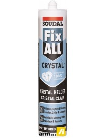 FIX ALL CRYSTAL  SiliconesSOUDAL