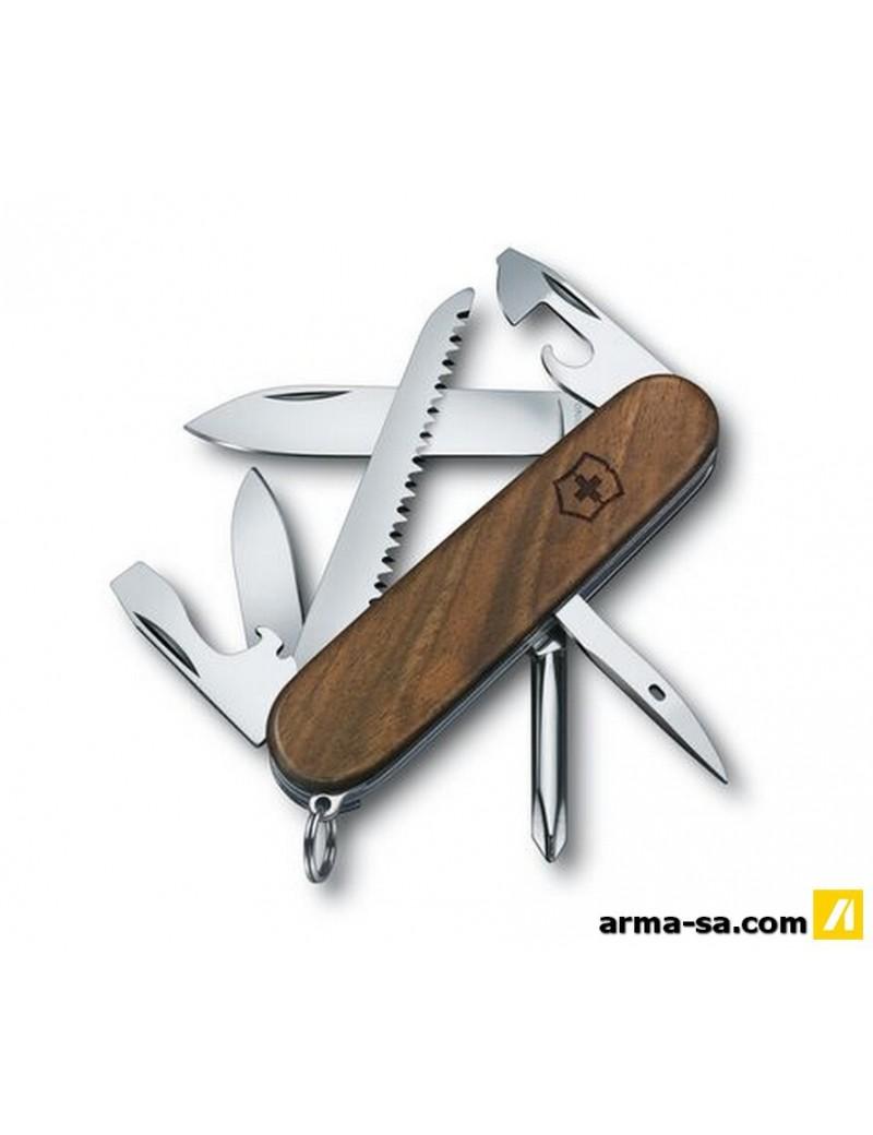HIKER WOOD, 91 MM, NOYER  Couteaux pliantsVICTORINOX