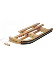Traineau en bois DAVOS repliable 90cm  JouetsSANS MARQUE