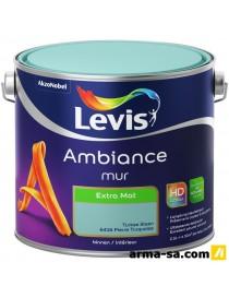 AMBIANCE MUR EXTRA MAT BLANC MARBRE 5L  Peintures murs et plafondsLEVIS