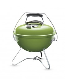 WEBER BARBECUE DE TABLE SMOKEY JOE PREMIUM 37 CM SPRING GREE  Barbecue au charbon de boisWEBER