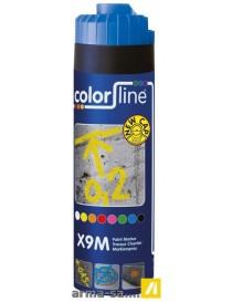 X9M PAINT MARKER - 500 ML - FLUO BLEU  Peintures de marquageCOLOR LINE