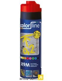 X9M PAINT MARKER - 500 ML - FLUO ROUGE  Peintures de marquageCOLOR LINE