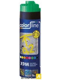 X9M PAINT MARKER - 500 ML - FLUO VERT  Peintures de marquageCOLOR LINE