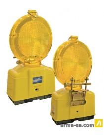 LAMPE CLIGNOTANTE ╪ 180 MM - DUO - LED - JAUNE  Lampes de signalisationCOLOR LINE