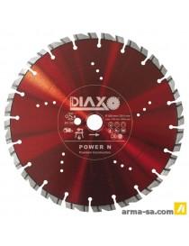 POWER N - 400 X 25,4 MM - PREMIUM CONSTRUCTION  Disques diamantPRODIAXIO