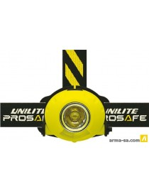 LAMPE FRONTALE AVEC MICRO LED - PS-H8  Lampes frontalesUNILITE
