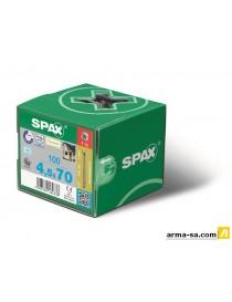 SPAX LA VIS DE PANNEAUX EN CONTREPLAQUé 8,0 X 350 WIROX P3J  Vis panneaux particulesSPAX
