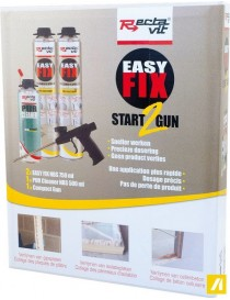 KIT EASY FIX START2GUN  Colles de montageRECTAVIT