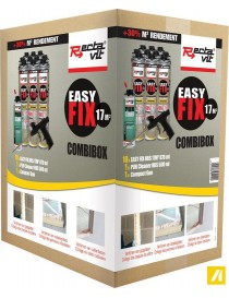 COLLE DE MONTAGE PU EASY FIX 17M² COMBIBOX  Colles de montageRECTAVIT