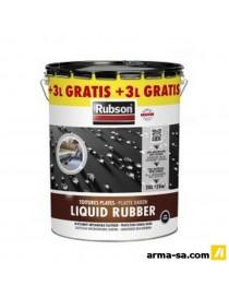 REVETEMENT CAOUTCHOUC LIQUID RUBBER PLUS 20L+3L NOIR  CaoutchoucRUBSON