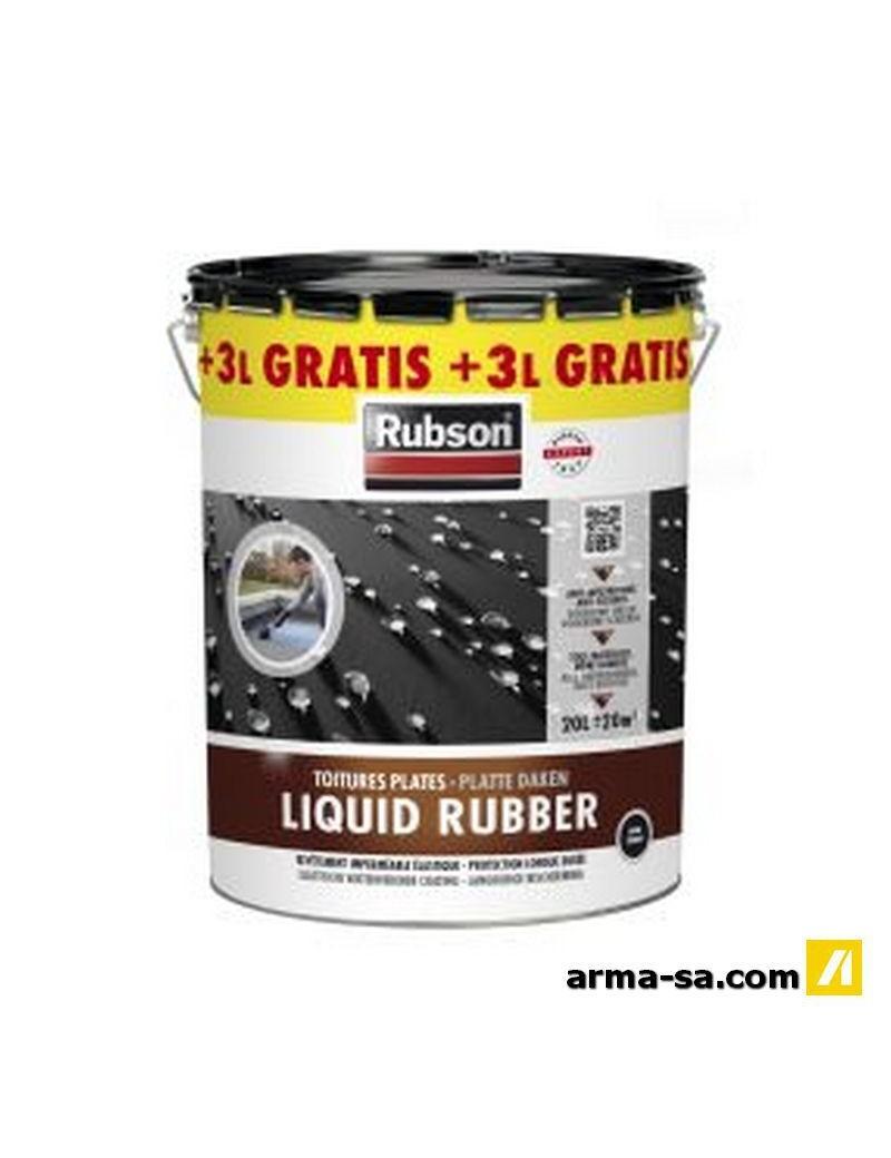 RUBSON LIQUID RUBBER NOIR 20L+3L GRATUIT  CaoutchoucRUBSON