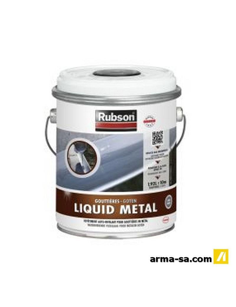 RUBSON LIQUID METAL (ZINC) EN 1.92 L 80484  EtanchéitéRUBSON