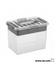 Q-LINE MULTIBOX - 9L - TRANSP-METALLIQUE  Boîtes plastiquesSUNWARE