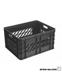 SQUARE MULTI CRATE - 52L - ANTHRACITE  Boîtes plastiquesSUNWARE