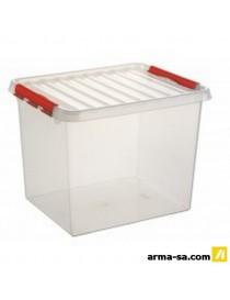 BOITE DE RANGEMENT Q-LINE - 52L  Boîtes plastiquesSUNWARE