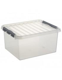 BOITE DE RANGEMENT Q-LINE - 36L  Boîtes plastiquesSUNWARE