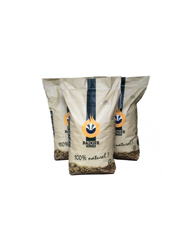 pellets badger en sac de 15kg  PelletsBADGER PELLET