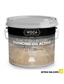 DIAMOND OIL BLANC (7%) - 2.5 LITRES  Huiles pour boisWOCA