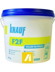 F2F PATE FILLER TO FINISH 20KG  Produits plâtreKNAUF