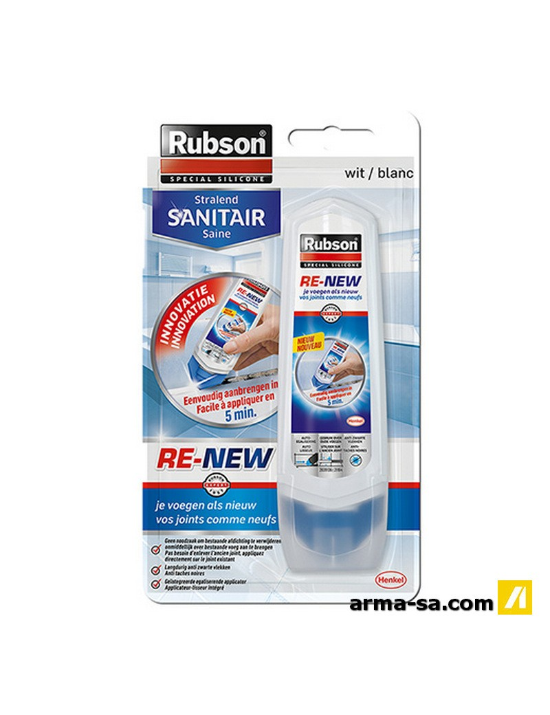 """""""RUBSON RE-NEW """"""""VOS JOINTS COMME NEUF""""""""""""  SiliconesRUBSON"""