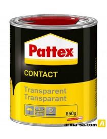 PATTEX TRANSPARANT 650GR  Colles de contactPATTEX