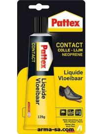 COLLE CONTACT LIQUIDE 125GR  Colles de contactPATTEX