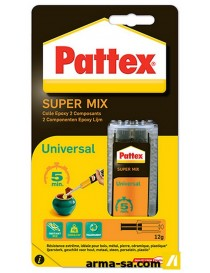 PATTEX SUPERMIX UNIVERSEL 11ML 1476719  Colles 2 composantsPATTEX