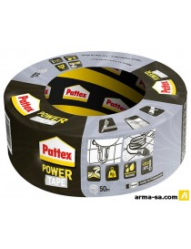 RUBAN ADHESIF POWER GRIS 10MX5MM  Bandes adhésivesPATTEX