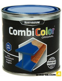 COMBICOLOR LAQUE BRILLANTE BLEU GENTIANE 250ML  Peintures pour métauxRUST-OLEUM