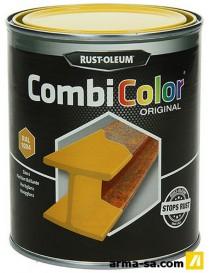 COMBICOLOR LAQUE BRILLANTE JAUNE OR 750ML  Peintures pour métauxRUST-OLEUM