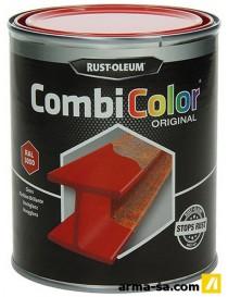 COMBICOLOR LAQUE BRILLANTE ROUGE VIF 750ML  Peintures pour métauxRUST-OLEUM