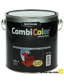 COMBICOLOR BRILLANT 7379 RAL 9005 2,5L  Peintures pour métauxRUST-OLEUM