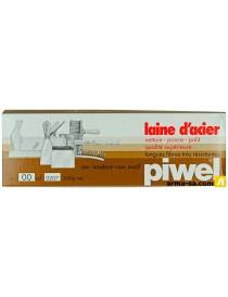 LAINE D'ACIER 200GR - N°00  PonçagePIWEL