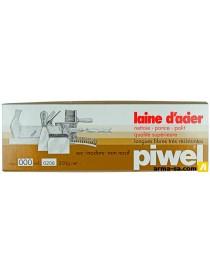 LAINE D'ACIER 200GR - N°000  PonçagePIWEL